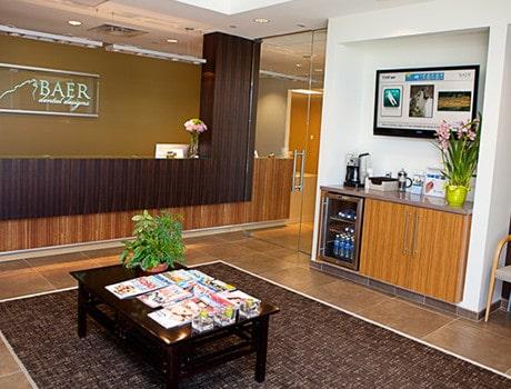 Baer Dental Office Reception