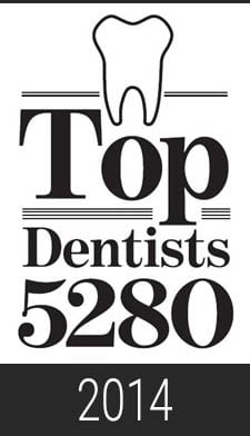 2014 Top Dentist 5280 Magazine