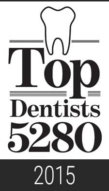 2015 Top Dentist 5280 Magazine