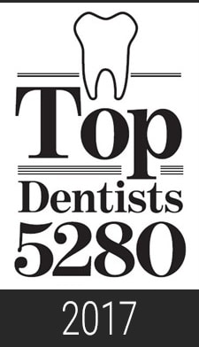 2017 Top Dentist 5280 Magazine